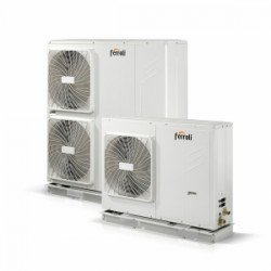 Hydronic heat pumps (heating/cooling/dhw)
